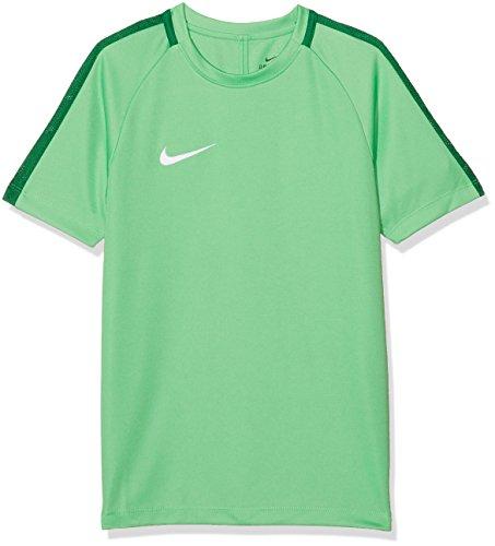 Nike Kinder Dry Academy 18 T-Shirt, grün (Light Green Spark/Pine Green/White), M