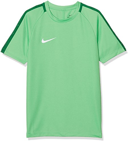Nike Kinder Dry Academy 18 T-Shirt, grün (Light Green Spark/Pine Green/White), M