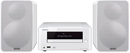 Onkyo CS-265 Home Audio System CD Hi-Fi Mini Stereo System with Bluetooth - White
