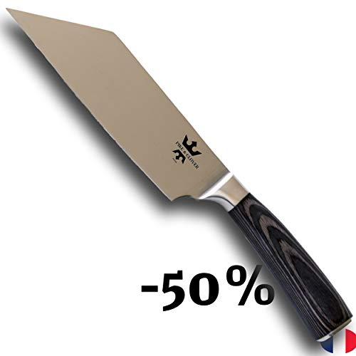 Pike & Clover un gran cuchillo de chef, cuchillo de