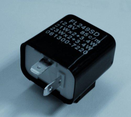 P&W Blinkrelais 12V 2x21W+3,4W 2-polig, Unisex, Multipurpose, Ganzjährig, Kunststoff, schwarz