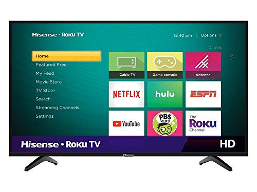 Hisense 32H4000FM Serie 4. 32' HD, Smart TV, Roku TV, HDR, Roku Search, (2019) (32') (Renewed)