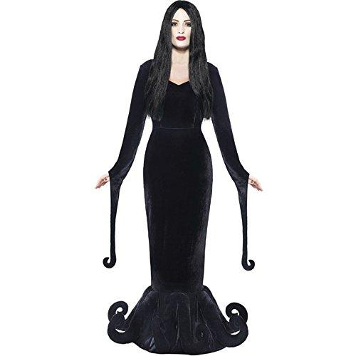 Disfraz de Morticia Addams, gtico para Halloween