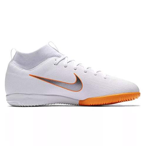 Nike Unisex-Erwachsene Mercurial Superfly X 6 Academy IC JR AH7 Fußballschuhe, Mehrfarbig (Indigo 001), 38.5 EU