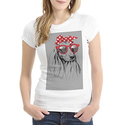 nanjingjin Ultraweich Kurzarm Basic T- Hemd für Frauen Dark Gray medium