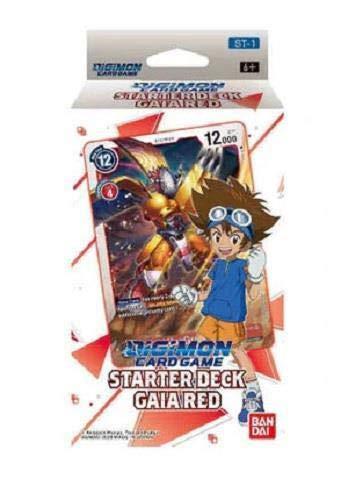 Digimon English TCG ST-1 Starter Deck Gaia Red - 54 Karten