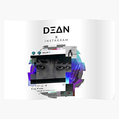 Hyuk Independent Khiphop Kwon Indie Hiphop K Instagram Dean Korean El póster de decoración de interiores más impresionante y elegante disponible en tendencia ahora
