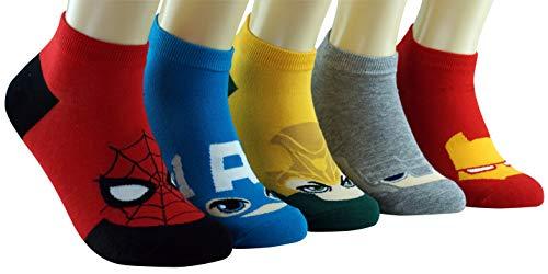 DASOM Marvel Superheroes Avengers Socken