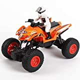QIXIAOCYB RC Coche 4wd Bigfoot Off-Road Crawler Desert High Speed Buggy Electric Buggy Fast Furious Tarterings Off-Road Car 2.4GHz Radio Control Camión for niños Edad 8-12 Playa Juguete