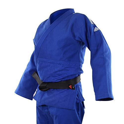 adidas Judogi Champion II IJF Unisex Azul Talla 200 cm - 200