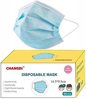 Mascarilla infantil desechable Se Envía desde España 50 Unidades Protección Facial Higiénicas 3 CAPAS Pack de 50 unidades ...