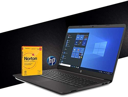 HP 255 G7 Notebook SD PC portátil para la DAD, Amd A6 3050U hasta 3,20 GHz, pantalla de 15,6 pulgadas, RAM 12 GB, SSD 500 GB, Radeon R3, HDMI, DVD, CD RW, Wi Fi, Bluetooth, Windows 10 Pro + Antivirus