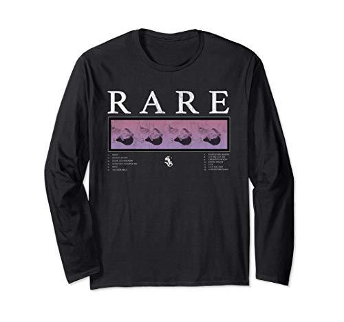 Selena Gomez Rare Track list Long Sleeve T-Shirt