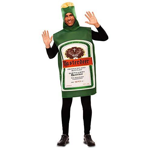 Costume Carnevale Adulto Bottiglia Masterdeer Taglia Unica