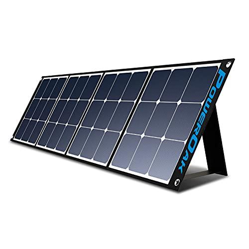 PowerOak SP120 mobiles faltbares solarpanel solaranlag wohnmobil 120W Solarmodul mit monokristallinem Back-Contact-Zellen-Panel