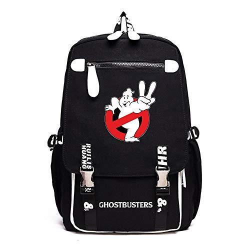 Ghostbusters Freizeitrucksack Sport-Rucksack beiläufige Schule Rucksack Computer-Rucksack Große Kapazität Reisetasche Daypack Unisex (Color : A01, Size : 46 X 30 X 16cm)