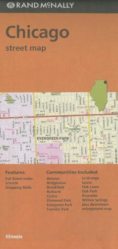 Rand McNally Folded Map: Chicago Street Map