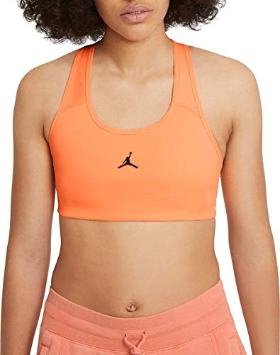 NIKE W J Jumpman Bra Sports, Peach Cream/(Ironstone), XL Womens