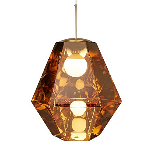 Cut Tall hanglamp, goud H 55, Ø 50cm nieuwe kleur 2018