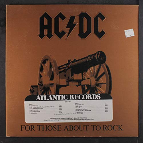 For those about to rock (1981) [VINYL]