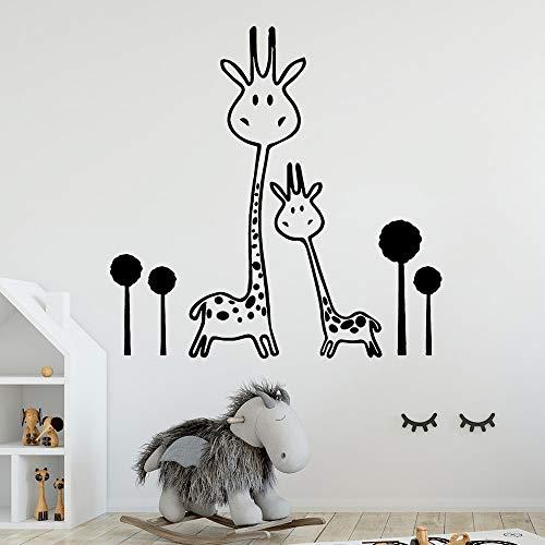 Tianpengyuanshuai Vinyl Aufkleber Wanddekoration Wohnkultur Kinderhaus Wandtattoo 31X42cm