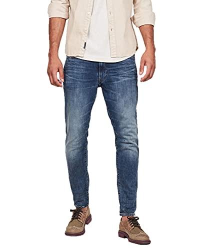 G-STAR RAW D-Staq 3D Slim 1 Jeans Skinny, Blu (Medium Aged), 31W / 30L Uomo