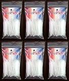 Armonds ProPicks Plastic Toothpicks, 6 Pouch Bags