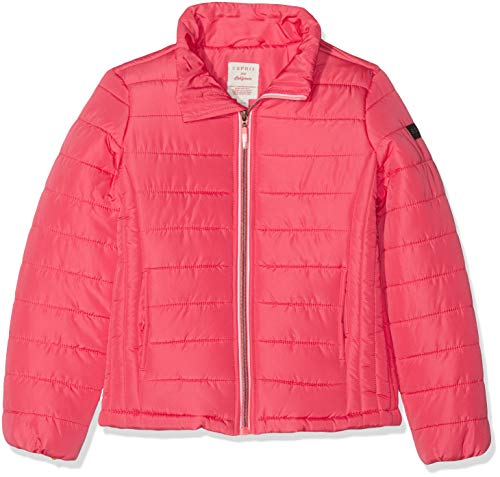 ESPRIT KIDS Mädchen Rp4200507 Outdoor Jacket Jacke, Rosa (Strawberry 342), 164 (Herstellergröße: L)