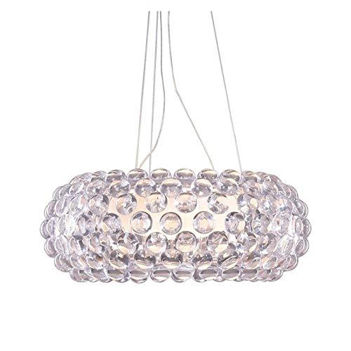 Apparecchio di illuminazione Nuove lampadari Lampada a sospensione a sospensione Foscarini Caboche, Eliana Gerotto progettato chiaro trasparente / ambra in acrilico a sfera acrilica ( Size : 20*50CM )