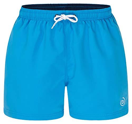 Bugatti® - Short de bain pour homme en bleu, vert, bleu marine, rouge, noir ou turquoise., Bleu marine à l'intérieur., 2X-Large