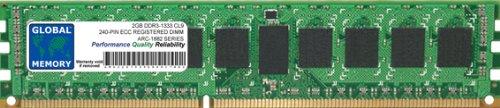 Price comparison product image 2GB DDR3 1333MHz PC3-10600 240-PIN ECC REGISTERED DIMM (RDIMM) MEMORY FOR ARECA RAID ADAPTERS ARC-1882ix-12 / ARC-1882ix-16 / ARC-1882ix-24