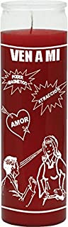 Indio Products Come to Me Red Candle - Silkscreen 1 Color 7 Day
