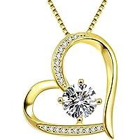 Van Rorsi&Mo Heart 5A Cubic Zirconia Love Necklace
