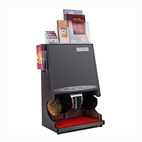 Hmwxbs Vollautomatische Schuhputzer Für Easy Schuh Waschmaschine Mit Einem Visitenkartenhalter, Zwei Single-Layer-Folding Regale Und EIN Double-Layer A4 Shelf,B