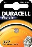Duracell 377SR626SW SB AG41,55V Silberoxid Uhrenbatterie