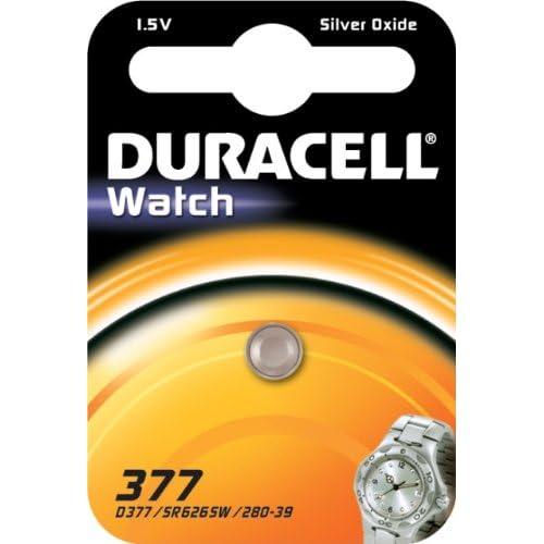 Duracell 377SR626SW sb-aw AG41.55V ossido d' argento per orologi