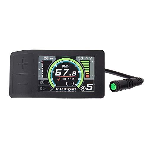 Bafang 8fun LCD 750C 850C 860C C18 C965 C961 500C SW102 Bedienfeld des Anzeigemessgeräts für Elektrofahrräder BBS02 und BBSHD Mid Drive Motor (500C Anzeige)