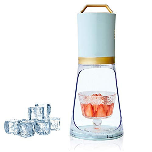 New Electric Snow Cone Machine, Small Household Electric Ice Shaver, Portable Ice Crusher, with Ice ...