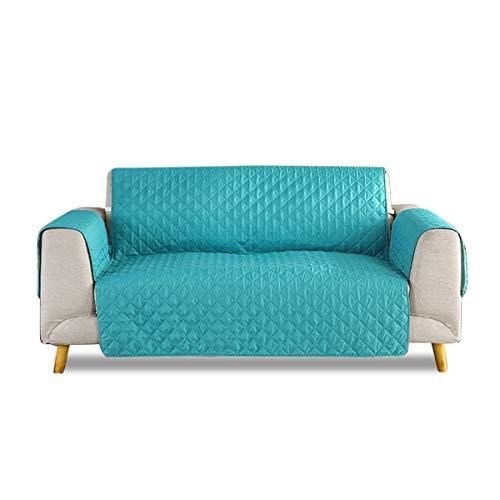 PETCUTE Fundas de sofá Acolchadas Cubre Sofa Protector para sofás Cubiertas de sillones de Lujo Menta…