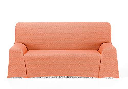 Cardenal Textil Regina Foulard Multiusos, Naranja, 180x290 cm