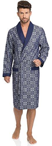 Timone Bata Larga Vestidos de Casa Hombre TI30-103 (Jeans, M)