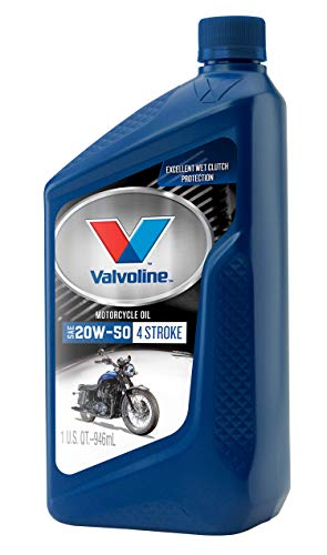Valvoline4-Stroke Motorcycle SAE 20W-50 Motor Oil 1 QT