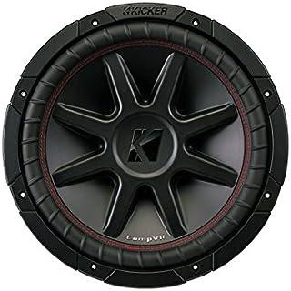 KICKER 43CVR124 12 inç Comp-VR Woofer Siyah