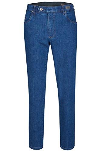 aubi: Herren Sommer Jeans Hose Stretch aus Baumwolle High Flex Modell 577 Stone Größe 28
