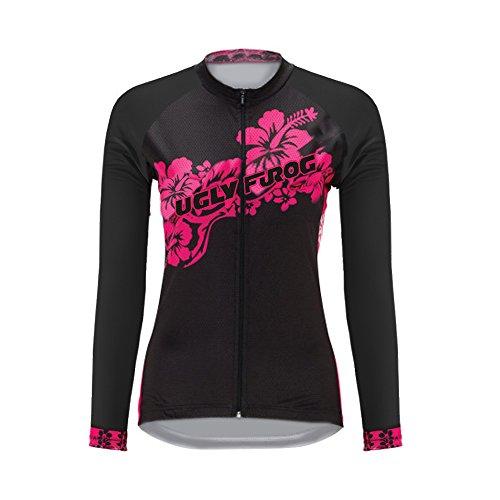 Uglyfrog Neue 2018 Damen Fahrradbekleidung Trikot Langarm Radtrikot Radfahren Jersey Lange Hülsen Fahrradtrikot WOCXJM01