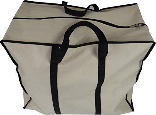 Neusu Starke Tasche Zur Aufbewahrung Von Kleidung, 70 Liter, 55x45x30cm, Beige