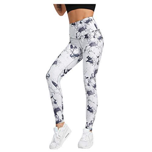 Damen Yoga Hose drucken Gamaschen-Eignung Sporthosen Feste Sport angesagte hoch taillierte Trainings Pants