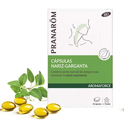 Pranarôm - Aromaforce - Cápsulas Nariz-Garganta Bio - 30 cápsulas