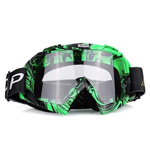 Gafas de moto s Moto Motocross Off Road Dirt Bike Racing Gafas Gafas Protección ocular (# 4): Ropa