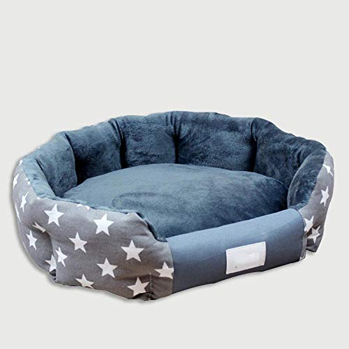 Pet kennel, warm dog bed for small and medium-sized dogs, soft waterproof pad, autumn and winter pet bed, dog house, cat bed, clean and comfortable, cute and soft, it is your pet's favorite house